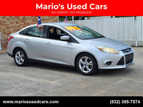 2013 Ford Focus for sale at Mario's Used Cars - South Houston Location in South Houston TX