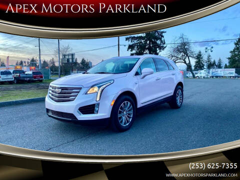 2018 Cadillac XT5 for sale at Apex Motors Parkland in Tacoma WA