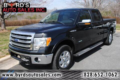 2013 Ford F-150 for sale at Byrds Auto Sales in Marion NC