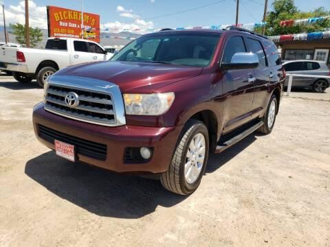 2008 Toyota Sequoia for sale at Bickham Used Cars in Alamogordo NM