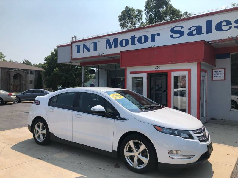 2013 Chevrolet Volt for sale at TNT Motor Sales in Oregon IL