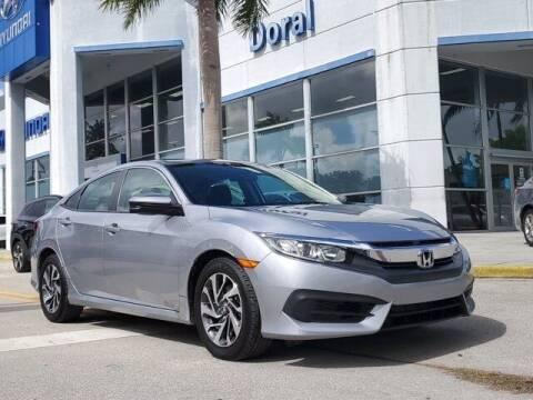 2016 Honda Civic for sale at DORAL HYUNDAI in Doral FL
