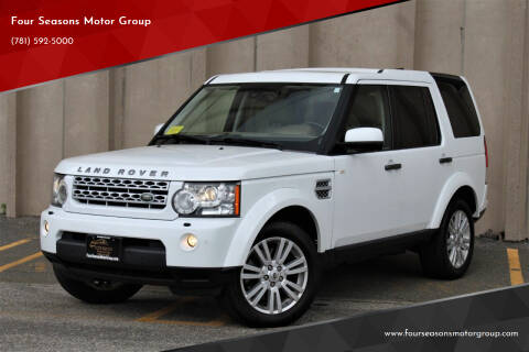 2012 Land Rover LR4 for sale at Four Seasons Motor Group in Swampscott MA