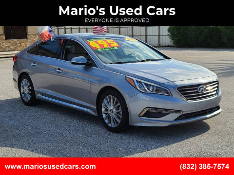 2015 Hyundai Sonata for sale at Mario's Used Cars - Pasadena Location in Pasadena TX