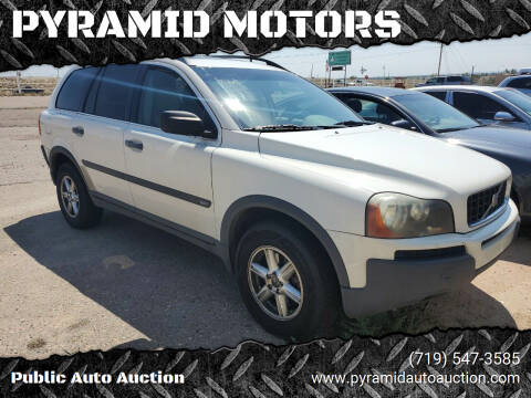 2003 Volvo XC90 for sale at PYRAMID MOTORS - Pueblo Lot in Pueblo CO