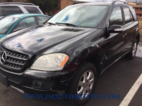2007 Mercedes-Benz M-Class for sale at J & M Automotive in Naugatuck CT