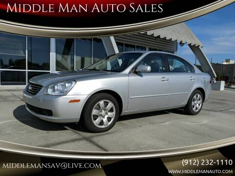 2008 Kia Optima for sale at Middle Man Auto Sales in Savannah GA