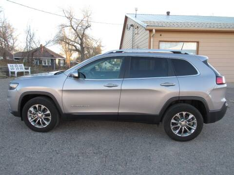 2019 Jeep Cherokee for sale at HOO MOTORS in Kiowa CO