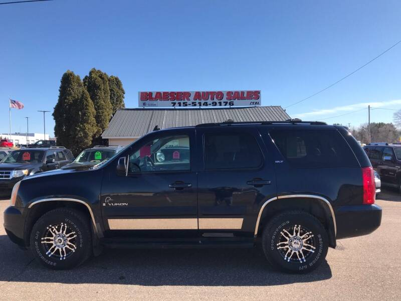 2007 GMC Yukon for sale at BLAESER AUTO LLC in Chippewa Falls WI