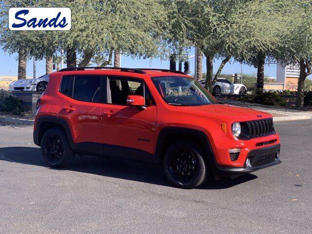 2019 Jeep Renegade for sale at Sands Chevrolet in Surprise AZ