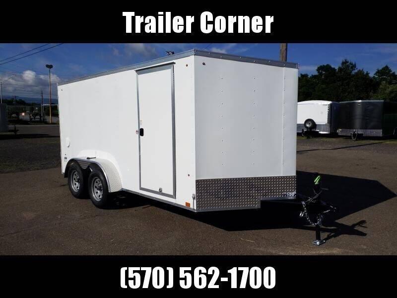 2020 Look Trailers STLC 7X14 RAMP DOOR