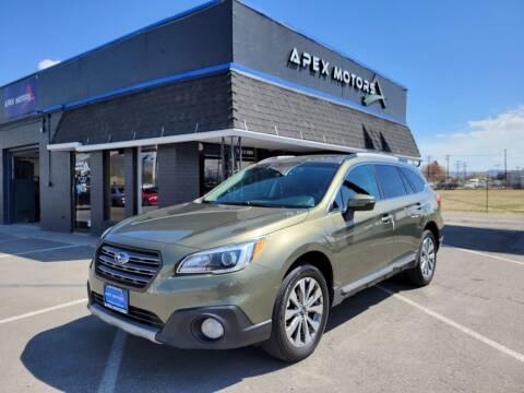 2017 Subaru Outback for sale at Apex Motors in Murray UT