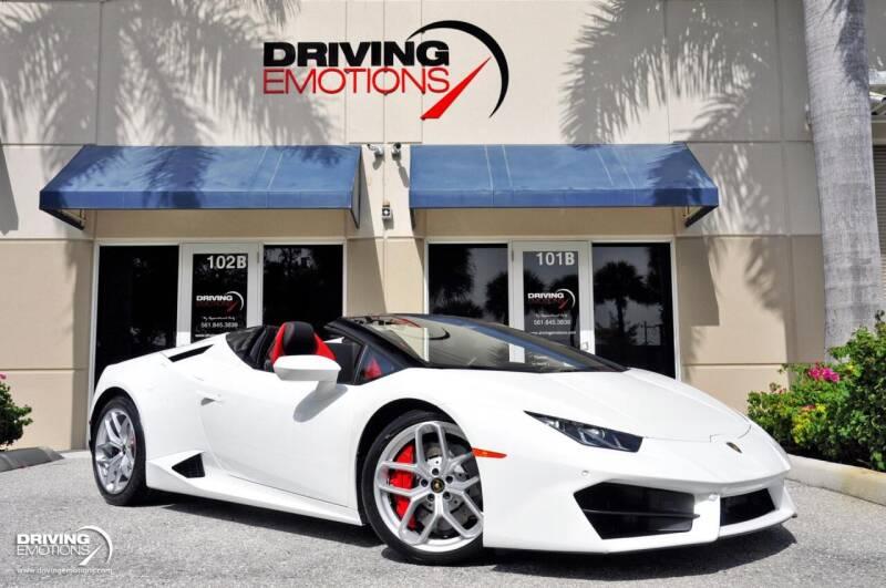 2018 Lamborghini Huracan for sale in Lake Park, FL