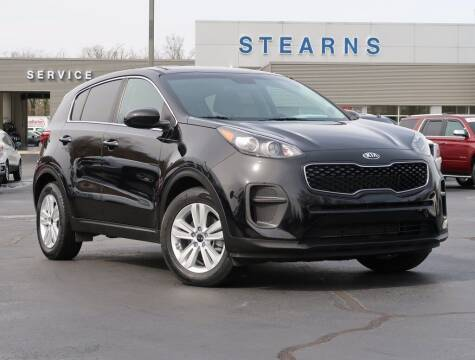 2018 Kia Sportage for sale at Stearns Ford in Burlington NC