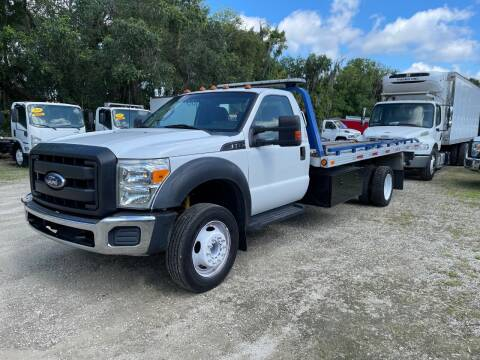 2011 Ford F-550 Super Duty for sale at DEBARY TRUCK SALES in Sanford FL