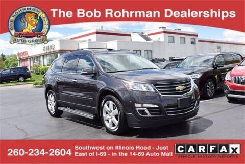 2016 Chevrolet Traverse for sale at BOB ROHRMAN FORT WAYNE TOYOTA in Fort Wayne IN