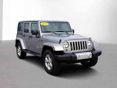 2015 Jeep Wrangler Unlimited for sale at Jimmys Car Deals in Livonia MI