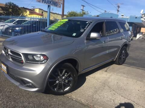 2017 Dodge Durango for sale at 2955 FIRESTONE BLVD in South Gate CA