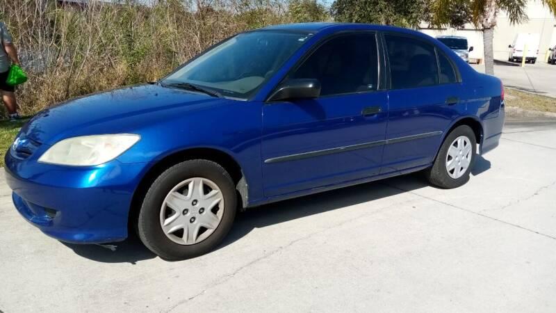 2004 Honda Civic for sale at Coastal Car Brokers LLC in Tampa FL