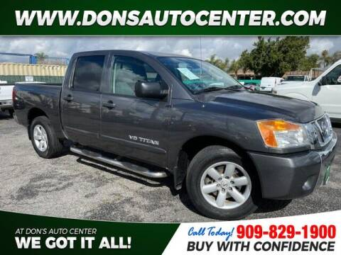 2010 Nissan Titan for sale at Dons Auto Center in Fontana CA