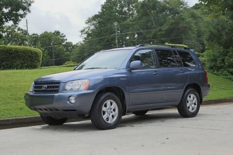 2003 Toyota Highlander for sale at Alpha Auto Solutions in Acworth GA