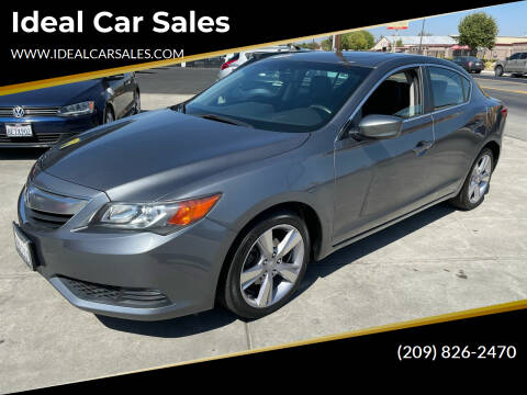 2014 Acura ILX for sale at Ideal Car Sales in Los Banos CA