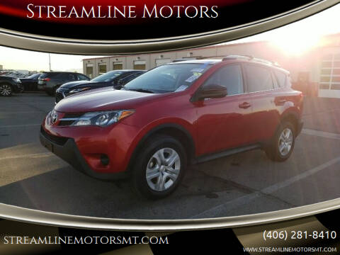 2015 Toyota RAV4 for sale at Streamline Motors in Billings MT