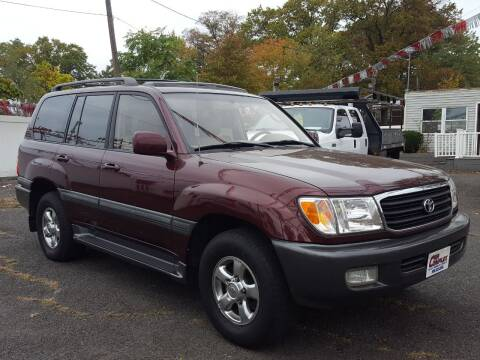 2002 Toyota Land Cruiser for sale at Car Complex in Linden NJ