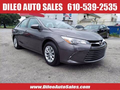 2015 Toyota Camry for sale at Dileo Auto Sales in Norristown PA
