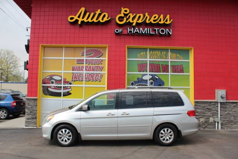 2008 Honda Odyssey for sale at AUTO EXPRESS OF HAMILTON LLC in Hamilton OH