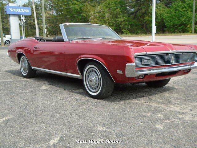 1969 Mercury Cougar for sale at Matt Hagen Motors in Newport NC