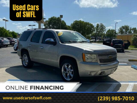 2007 Chevrolet Tahoe for sale at Used Cars of SWFL in Fort Myers FL