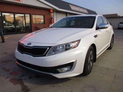 2013 Kia Optima Hybrid for sale at Eden's Auto Sales in Valley Center KS