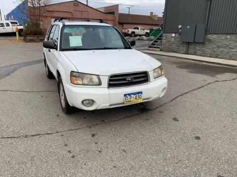 2004 Subaru Forester for sale at ALASKA PROFESSIONAL AUTO in Anchorage AK