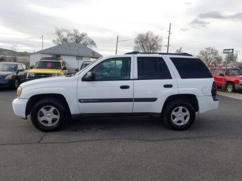 2003 Chevrolet TrailBlazer for sale at BRAMBILA MOTORS in Pocatello ID