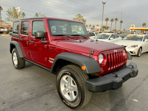 2013 Jeep Wrangler Unlimited for sale at Charlie Cheap Car in Las Vegas NV