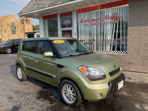 2010 Kia Soul for sale at KUHLMAN MOTORS in Maquoketa IA