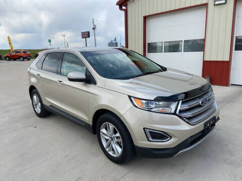 2017 Ford Edge for sale at SCOTT LEMAN AUTOS in Goodfield IL