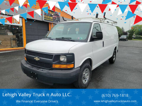 2014 Chevrolet Express Cargo for sale at Lehigh Valley Truck n Auto LLC. in Schnecksville PA