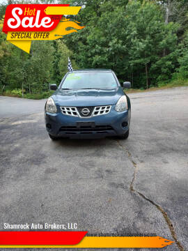2013 Nissan Rogue for sale at Shamrock Auto Brokers, LLC in Belmont NH