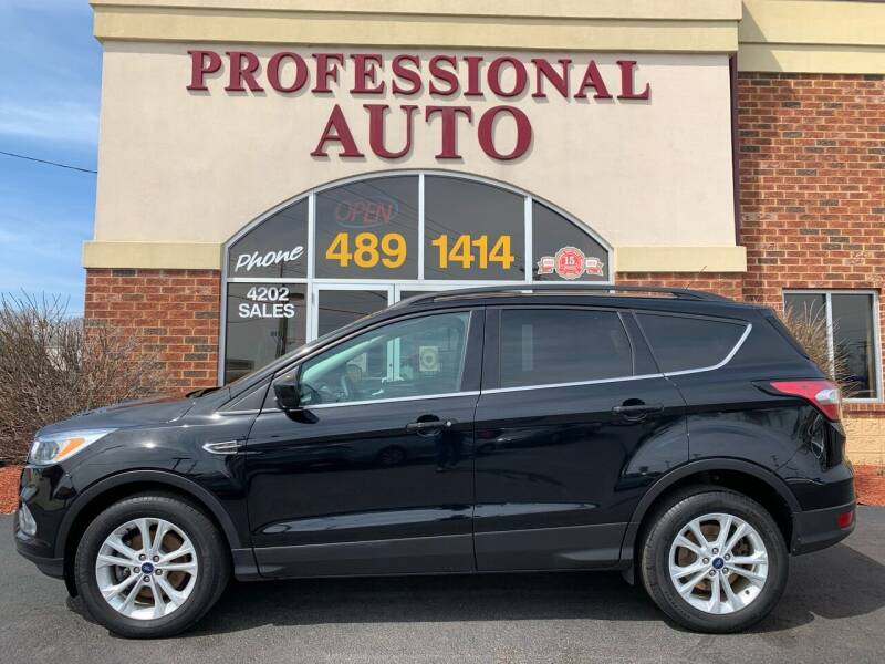 2018 Ford Escape for sale at Professional Auto Sales & Service in Fort Wayne IN