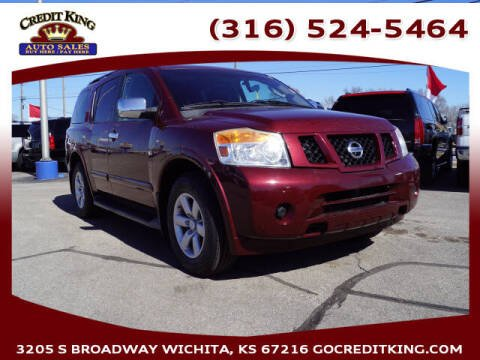 2011 Nissan Armada for sale at Credit King Auto Sales in Wichita KS