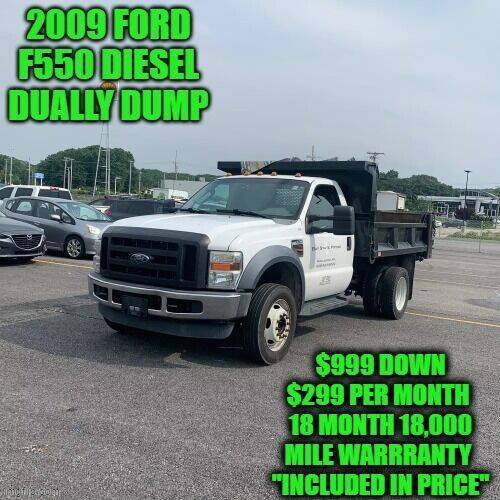 2009 Ford F-550 Super Duty for sale at D&D Auto Sales, LLC in Rowley MA