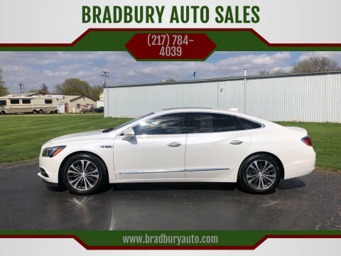 2017 Buick LaCrosse for sale at BRADBURY AUTO SALES in Gibson City IL