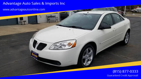 2007 Pontiac G6 for sale at Advantage Auto Sales & Imports Inc in Loves Park IL