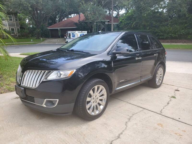 2013 Lincoln MKX for sale at North American Fleet Sales in Largo FL