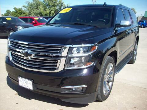 2015 Chevrolet Tahoe for sale at Nemaha Valley Motors in Seneca KS
