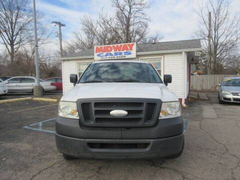 2008 Ford F-150 for sale at Midway Cars LLC in Indianapolis IN