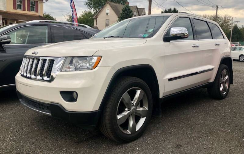 2012 Jeep Grand Cherokee for sale at Mayer Motors of Pennsburg in Pennsburg PA