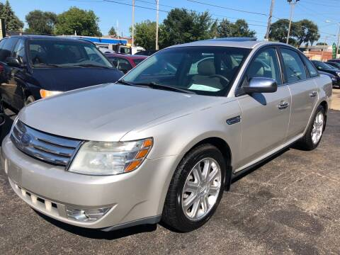 2008 Ford Taurus for sale at Petite Auto Sales in Kenosha WI